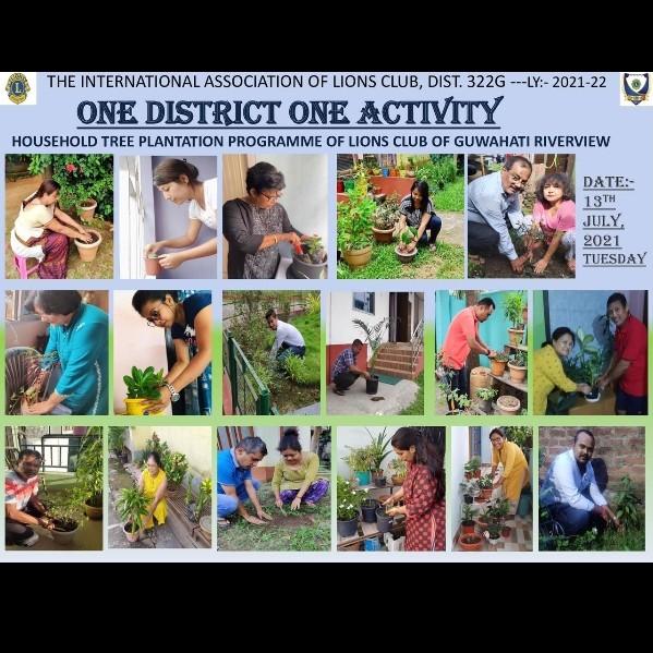 Household Tree Plantation Program