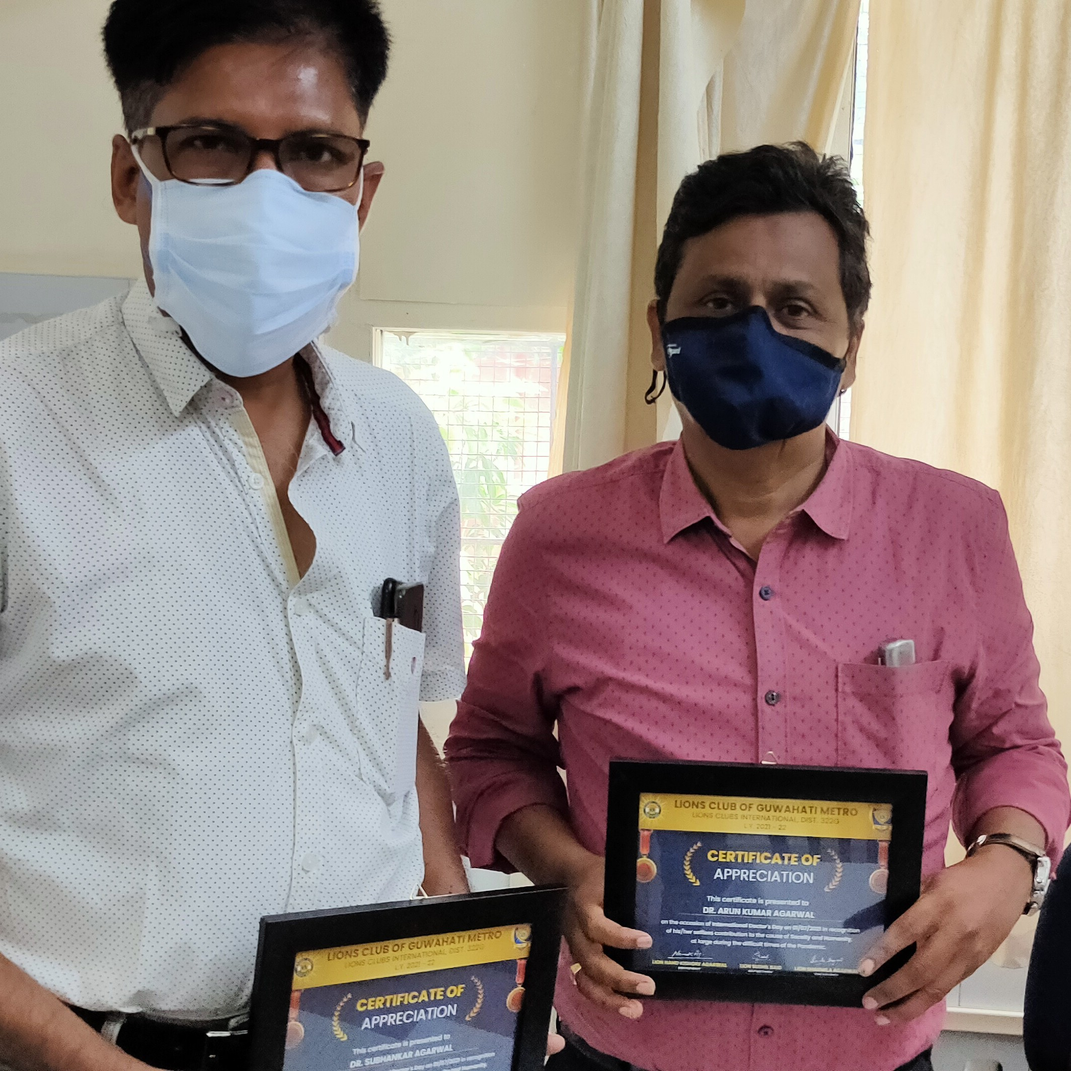 Honored Doctors