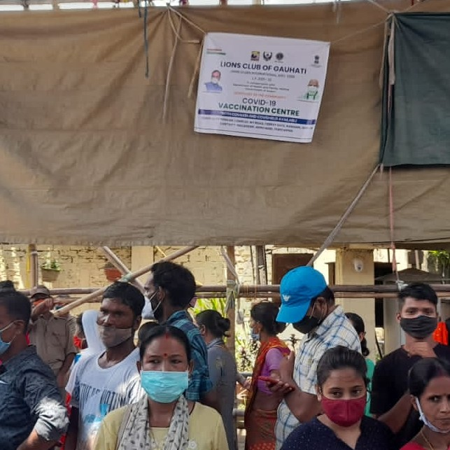 Free vaccination camp drive day 11