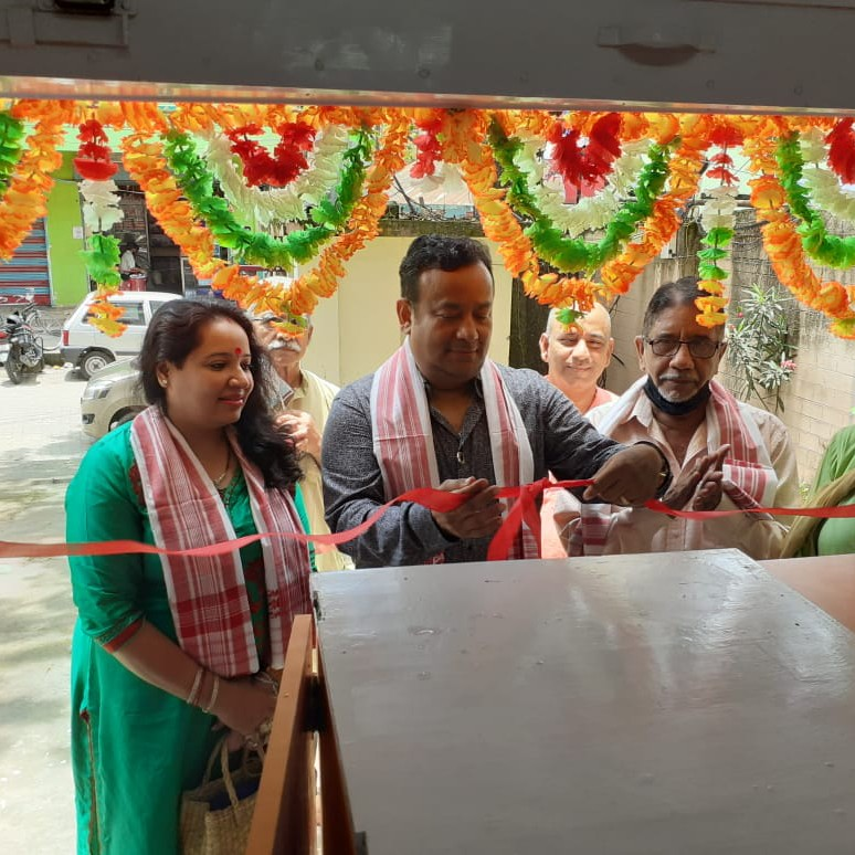 inauguration of new generic medicine shop in collaboration with