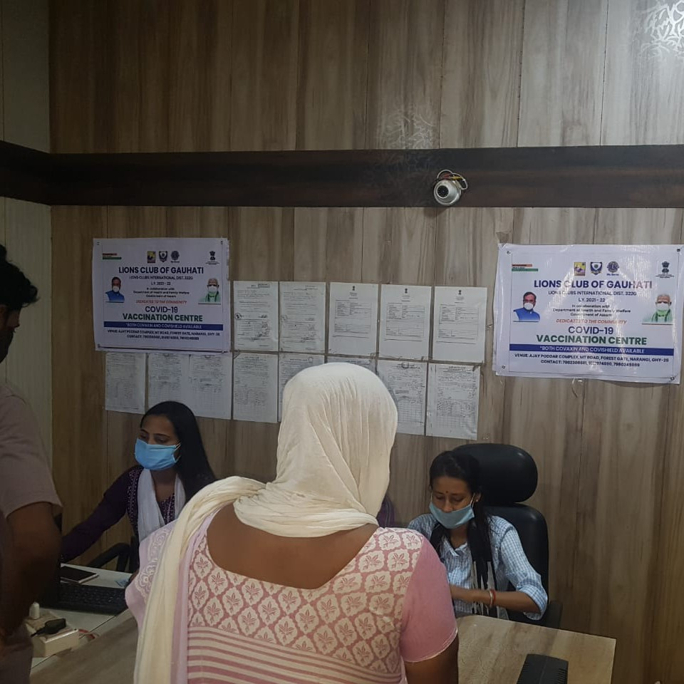 Free vaccination camp drive day 19