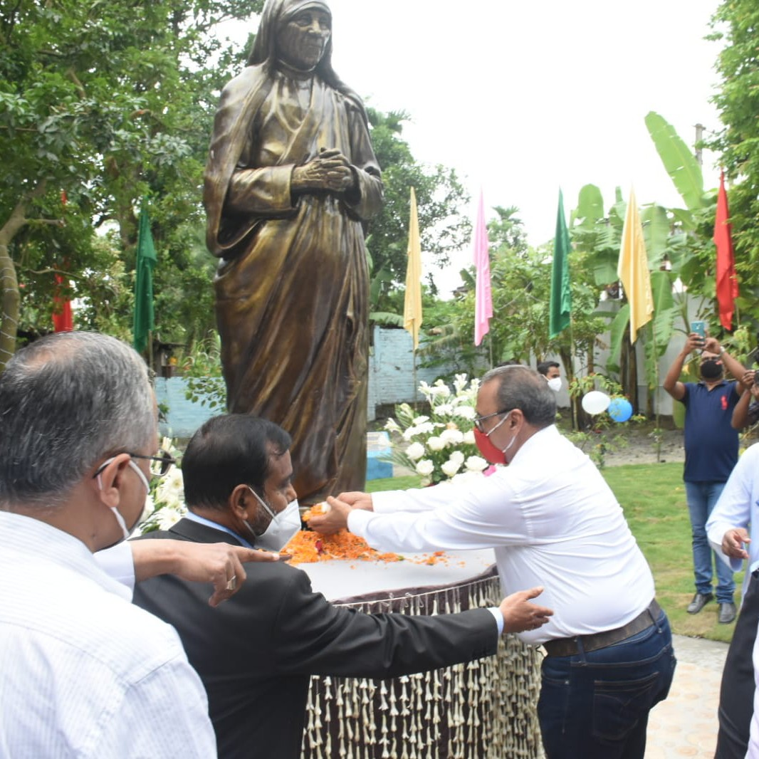Inauguration of solar light at lankeswar