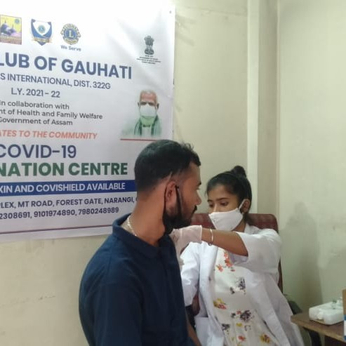 free vaccination camp drive day 2