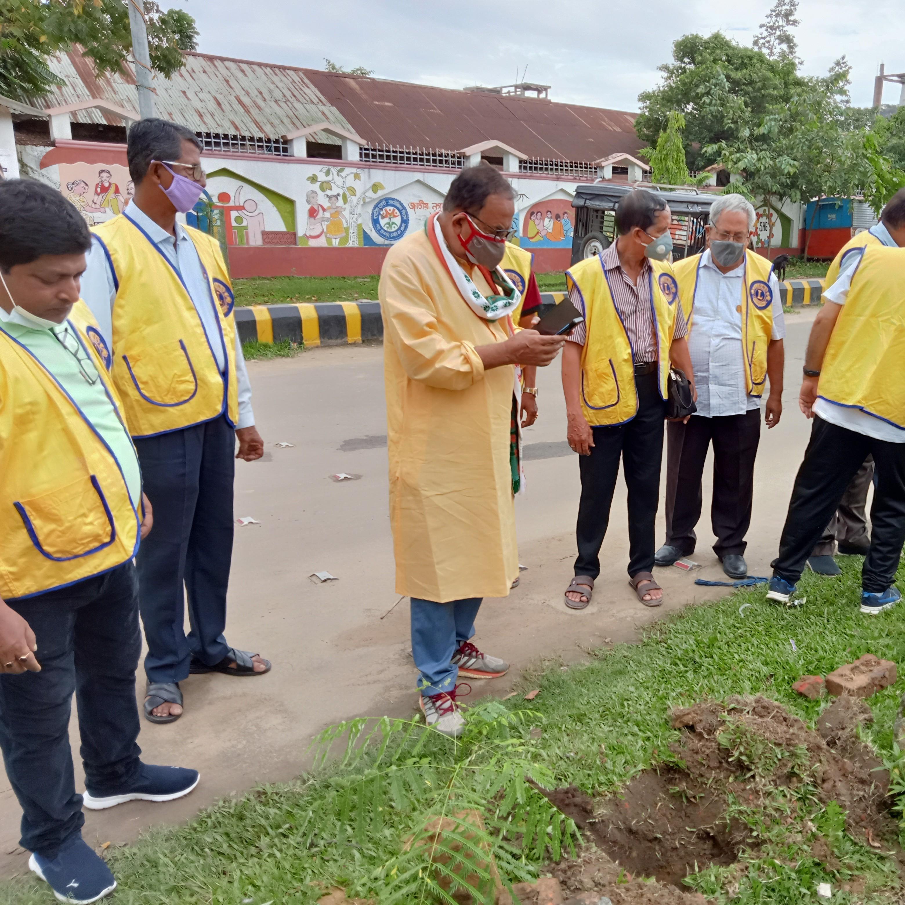 Tree Plantation Programme of Lions club of Dharmanagar