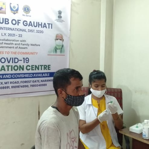 Free vaccination camp drive day 13