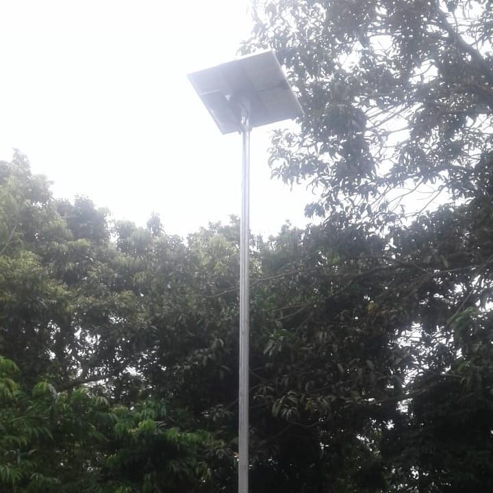donation of solar light at lankeswar jalukbari guwahati
