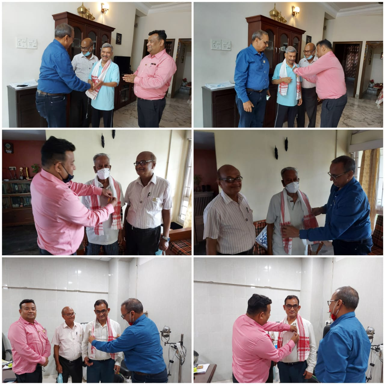 felicitation of Doctors and CAs