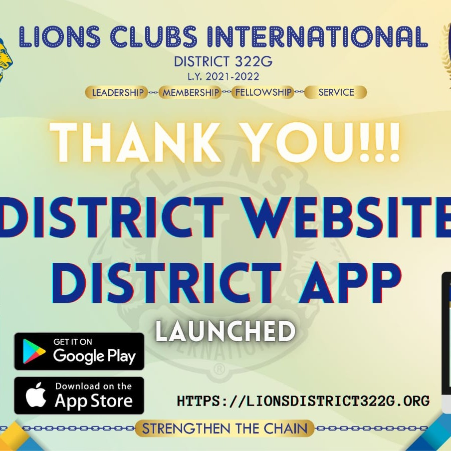 Grand Launch of District Website and App