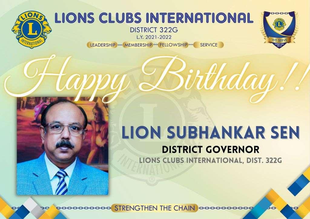 Happy Birthday District Governor!!